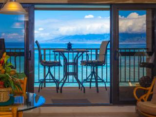 Kaleialoha 211 Stunning Blue Oceanfront Views!!! - Napili-Honokowai vacation rentals