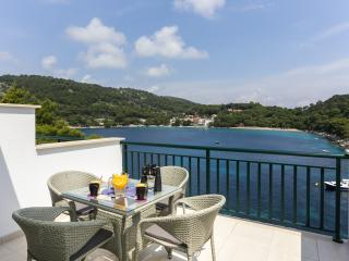 Apartments Posta - One-Bedroom Apartment with Terrace and Sea View (3 Adults) - Apartman 5 - Saplunara vacation rentals