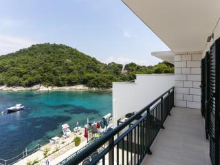 Apartments Posta - Comfort One-Bedroom Apartment with Balcony and Sea View - Apartman 8 - Saplunara vacation rentals