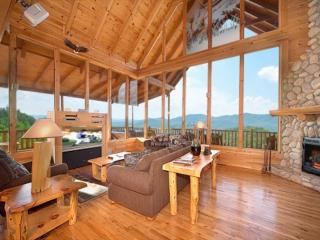 Kodiak Cabin ~ 3BR/3.5 BA  Pigeon Forge Luxury Cabin with Amazing  Mtn Views!! - Pigeon Forge vacation rentals
