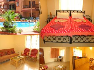 41) 1 Bed Apartment Calangute Sleeps 2/4 - Calangute vacation rentals