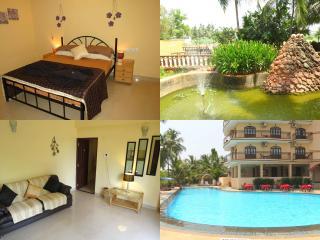 01) 1 Bed Apartment, Nazri Resort, Baga & WiFi - Baga vacation rentals
