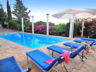 TRANQUIL villa 3 bedrm - Colorful Garden, Privacy - Paphos vacation rentals