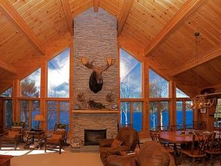 #113 Spectacular lodge with floor to ceiling windows & fireplace - Greenville vacation rentals