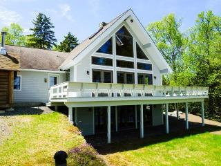 #102 Luxurious new chalet-style home on Moosehead Lake with large stone - Greenville vacation rentals