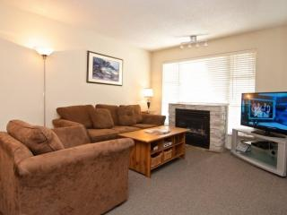 Glacier Lodge remodeled 2 bed condo facing interior courtyard and pool. Sleeps - Whistler vacation rentals