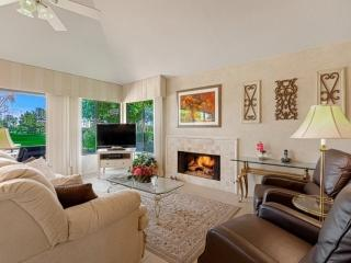 April Discounts! WOW! What a View!! Ground Floor Condo on 7th Fairway in - Palm Desert vacation rentals