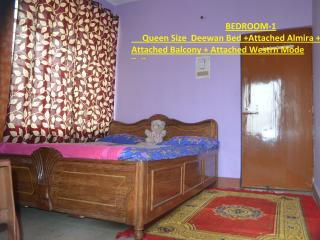 2BHK FLAT+2 BATHROOMS+1AC ROOM+GYSER+FREEZE+RO etc - Patna vacation rentals