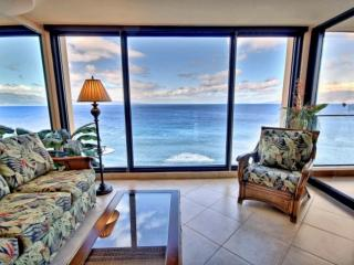 Oceanfront Mahana one bedroom with amazing ocean views! - Ka'anapali vacation rentals