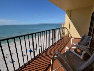 Las Brisas 504 - Top Floor Gulf Front- New Kitchen with Granite Counters! - Madeira Beach vacation rentals