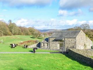 MUNGEON BARN luxury accommodation, hot tub, woodburning stove, fabulous views in Backbarrow Ref 923450 - Ulverston vacation rentals