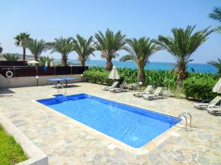Comfortable beachfront villa, 3BR, private pool - Kissonerga vacation rentals