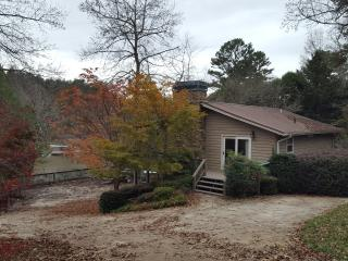 Lakefront on Nottelly Lake with private dock - Blairsville vacation rentals