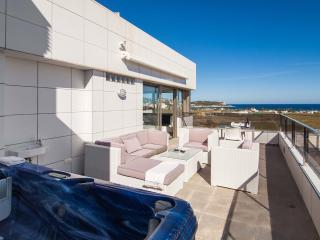 Casa Yole,penthouse with sea view,outdoor minipool - Ibiza vacation rentals