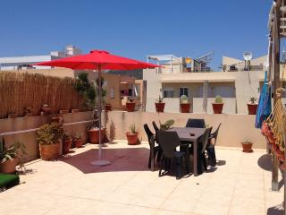 Casa Mia,large terrace apartment at few steps from the beach - Sant Josep De Sa Talaia vacation rentals