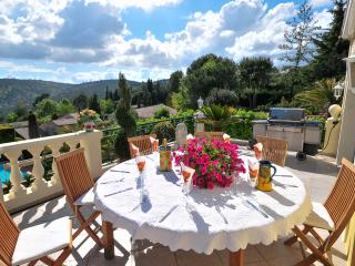 3 bedroom House with Private Outdoor Pool in Roquefort les Pins - Roquefort les Pins vacation rentals