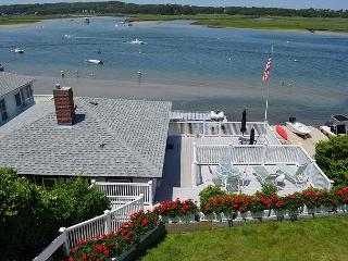 Sunset Cottage: Direct waterfront with two decks on the Annisquam River. - Gloucester vacation rentals