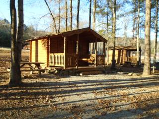 Vacation rental  cedar log Cabin 3 Birmingham AL. - Vandiver vacation rentals