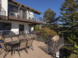 Large Riviera home with A/C & ocean view deck with hot tub - Sunset Heights - Santa Barbara vacation rentals