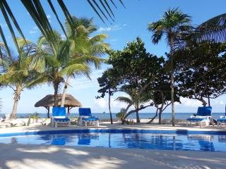 Casa Tortuga, Beautiful Beachfront 4bdrm Villa & pool, Soliman Bay, Tulum - Soliman Bay vacation rentals