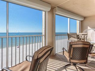 Casa Bonita II 506, 2 Bedrooms, Gulf Front, Elevator, Heated Pool, Sleeps 4 - Survey Creek vacation rentals