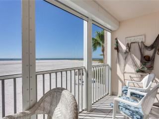 Castle Beach 105, 2 Bedrooms, Gulf Front, Elevator, Heated Pool, Sleeps 6 - Fort Myers Beach vacation rentals