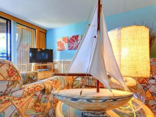 Hibiscus 203-B, 2 Bedrooms, Beach Front, 3 Pools, Pet Friendly, Sleeps 6 - Saint Augustine vacation rentals