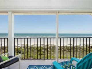 Windjammer 402, 2 Bedrooms, 4th Floor, Ocean Front, Elevator, Sleeps 7 - Saint Augustine vacation rentals