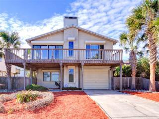 Beachwalk House, 3 Bedrooms, Ocean View, Across from Beach, WiFi, Sleeps 8 - Saint Augustine vacation rentals