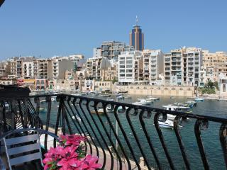 Spinola Bay Seafront 3 bedr. Mansion apt A - Saint Julian's vacation rentals