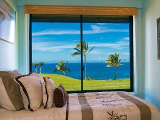 Affordable oceanfront views, convenient ground floor location. Fall discount! - Princeville vacation rentals
