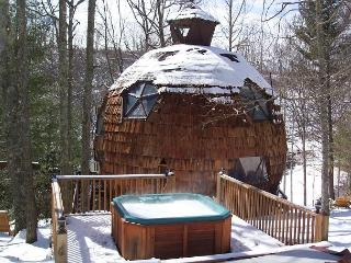 GEODESIC DOME ON 40 ACRES W/HOT TUB. REMAINING APRIL DATES $130/NIGHT! - Grassy Creek vacation rentals
