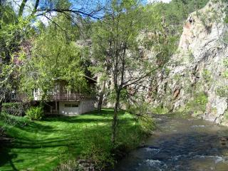 New Listing!  2 BR, 2 BA Creek Front Cabin - Rapid City vacation rentals
