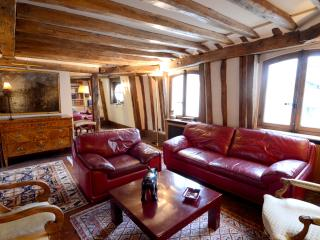 History and charm 2BR rental next to the Louvre - Paris vacation rentals