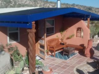 Blue House, Sustainable Stay in Papercrete - Terlingua vacation rentals