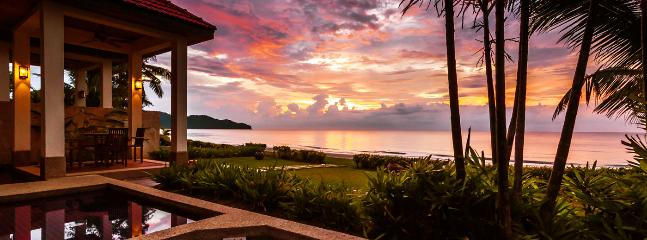 Direct Beach Front Villa With Private Pool/Garden - Kota Kinabalu vacation rentals