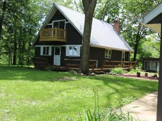 Rural River Cottage ~1 1/2 hours from Chicago - Cornell vacation rentals