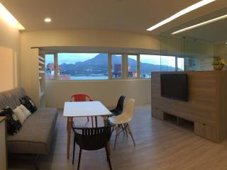 Sunny apartment with amazing river & mountain view - Taipei vacation rentals