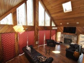Gorgeous Living Room With High Ceilings and Mountain Views - The Spice of the Poconos - Tannersville - rentals