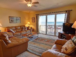 Surf Condo 123 - Majestic Ocean View, Tasteful Design, Pool, Beach Access, Onsite Laundry - Surf City vacation rentals