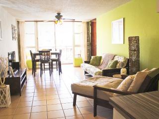 3 bed beachfront apt close to El Yunque, San Juan - Rio Grande vacation rentals
