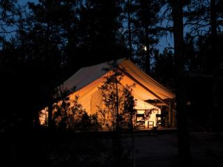 Lovely 1 bedroom Tented camp in North River with Fireplace - North River vacation rentals