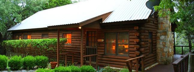Falls Log Home - Image 1 - Wimberley - rentals