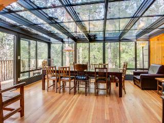 House in the woods with private hot tub & glass atrium dining room! - Idyllwild vacation rentals