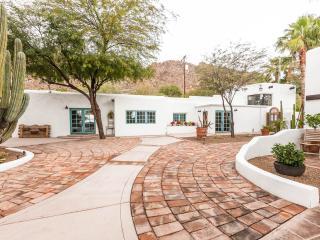 Alta Hacienda Estate 1930 Adobe w 2 guest houses - Phoenix vacation rentals