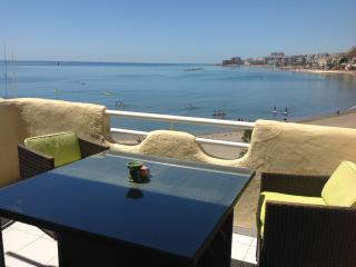 1st line beach, Marina apt,with stunning sea views - Benalmadena vacation rentals
