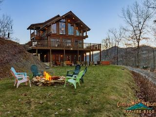 Bella Vista log Cabin - Fontana Dam vacation rentals