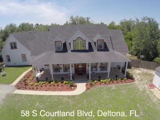 Orlando Daytona New Smyrna, Deltona House Sleeps12 - Deltona vacation rentals