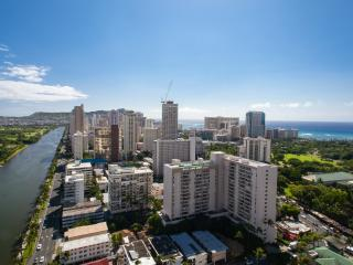 3506HM 2 Studio Apartments 2 bdrm 2 bath Ocean View Walk to Convention Center - Honolulu vacation rentals