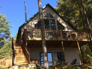 Bear's Den Lakefront Chalet w/OUTDOOR HOT TUB - Gaylord vacation rentals